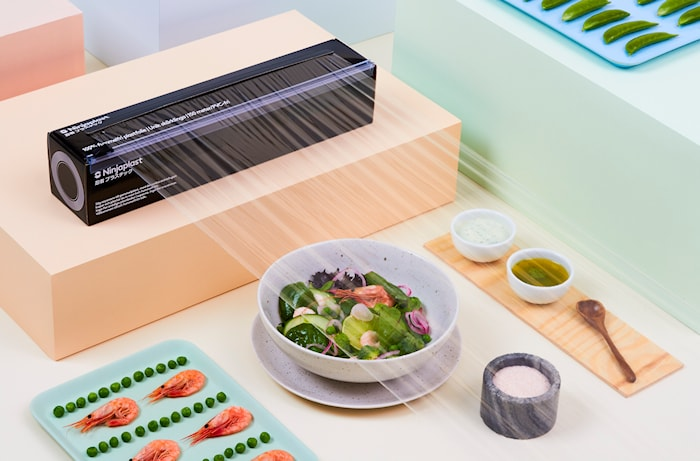 ninjaplast förpackar mat